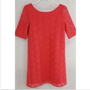 Lilly Pulitzer Girls Dress Medium Topanga Crochet